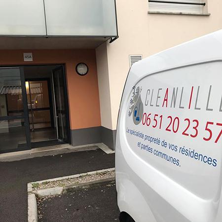 Nettoyage professionnel à Lille
